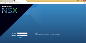 NSX Manager Home
