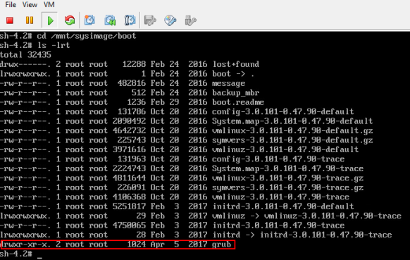 Oh noes! I've lost my vCenter appliance root and/or grub